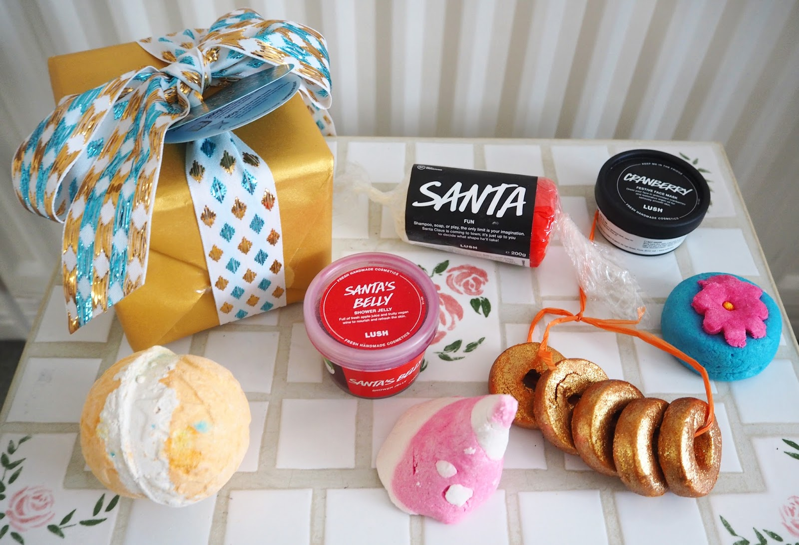What I Got For Christmas 2015: Lush Products | Katie Kirk Loves