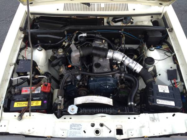 1984 Isuzu I-mark Diesel Engine