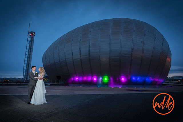 Glasgow Science Centre Wedding Photography