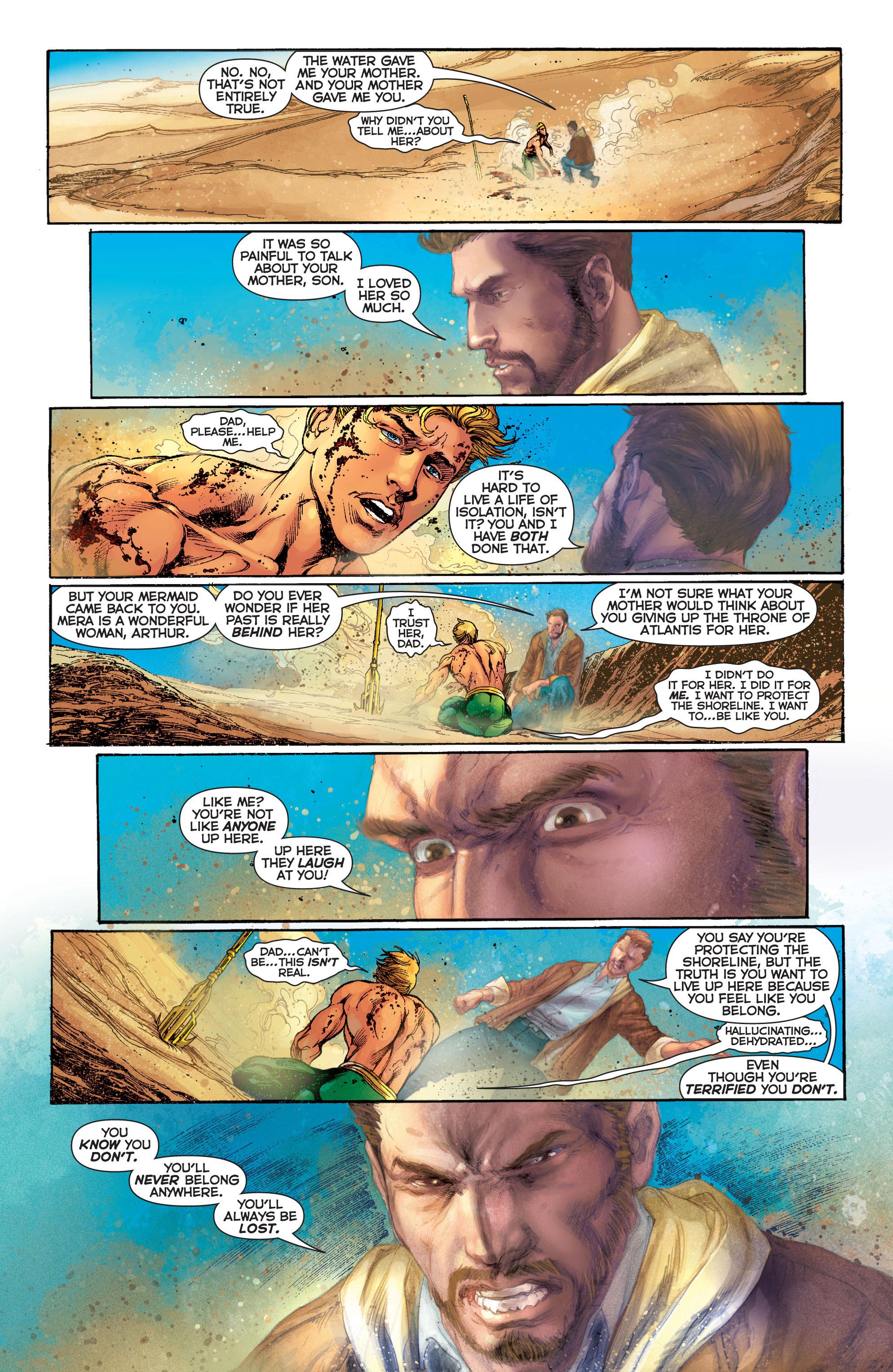 Read online Aquaman (2011) comic -  Issue #5 - 14