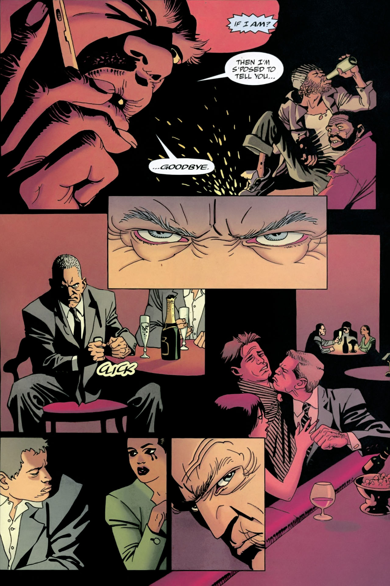 Read online 100 Bullets comic -  Issue #89 - 21