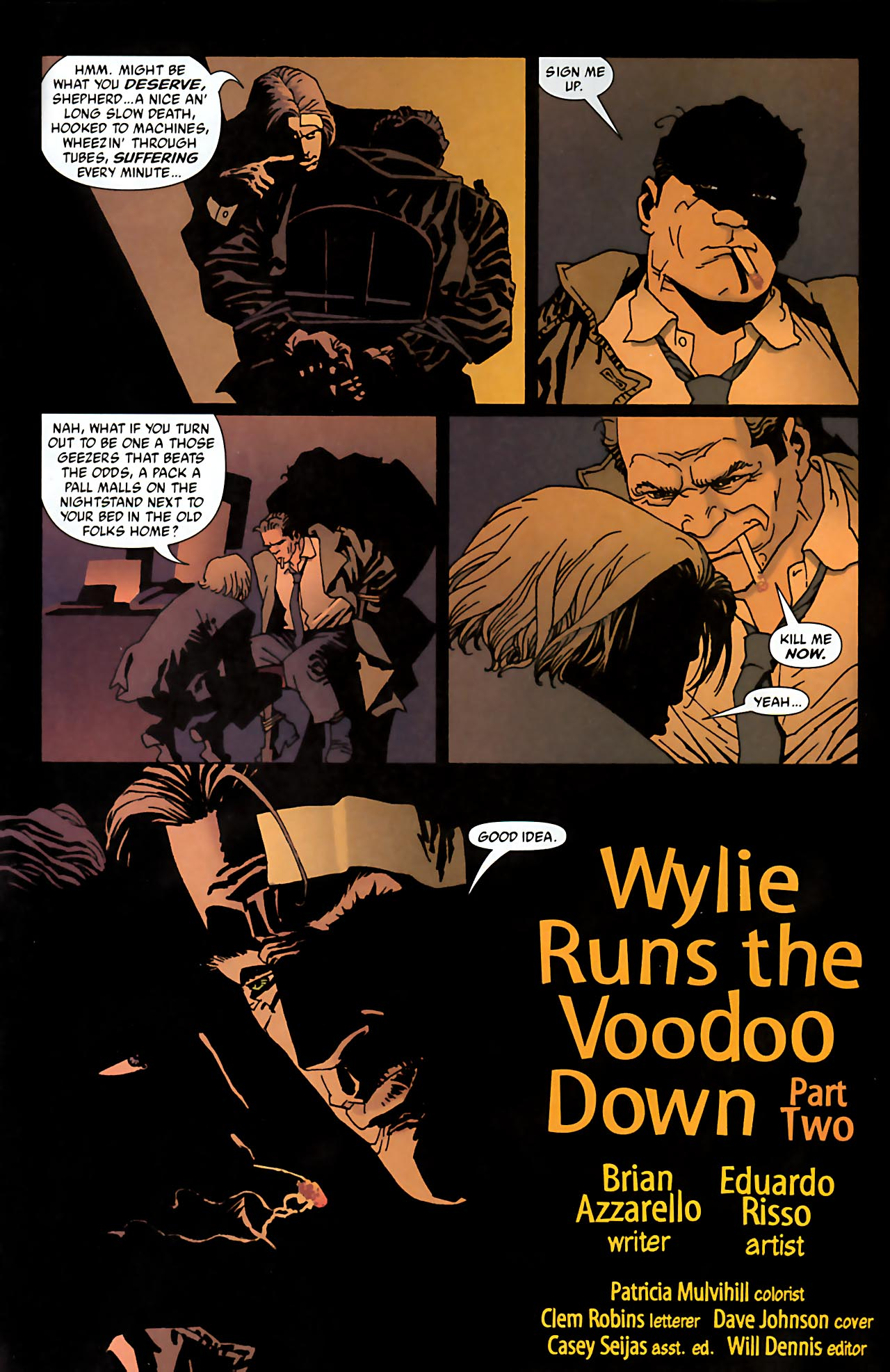 Read online 100 Bullets comic -  Issue #52 - 3