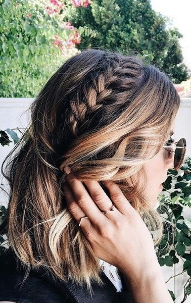 stylish hairstyle idea for this fall