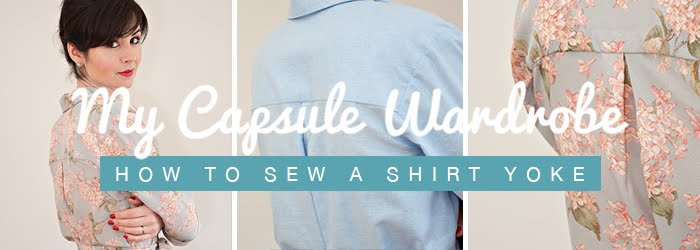 Sew Over It shirt yoke tutorial