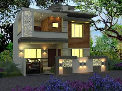 Rumah Minimalis Sederhana on Kerala House 3d Model