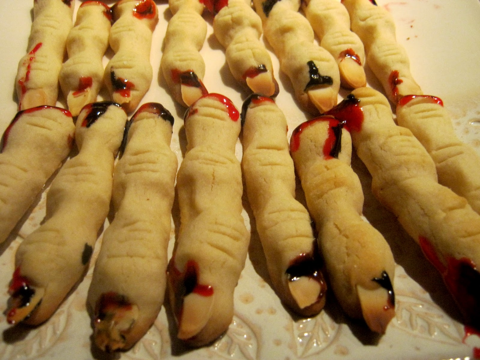 HomeBaked: Halloween Severed Finger Cookies