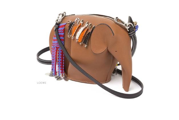 Loewe # Elephant Mini Bag.  Na ratunek słoniom