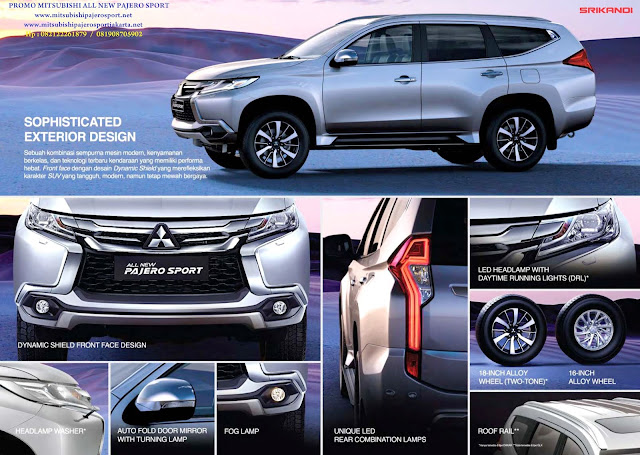 spesifikasi all new pajero sport indonesia