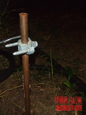 Powder Coat Grounding Rod