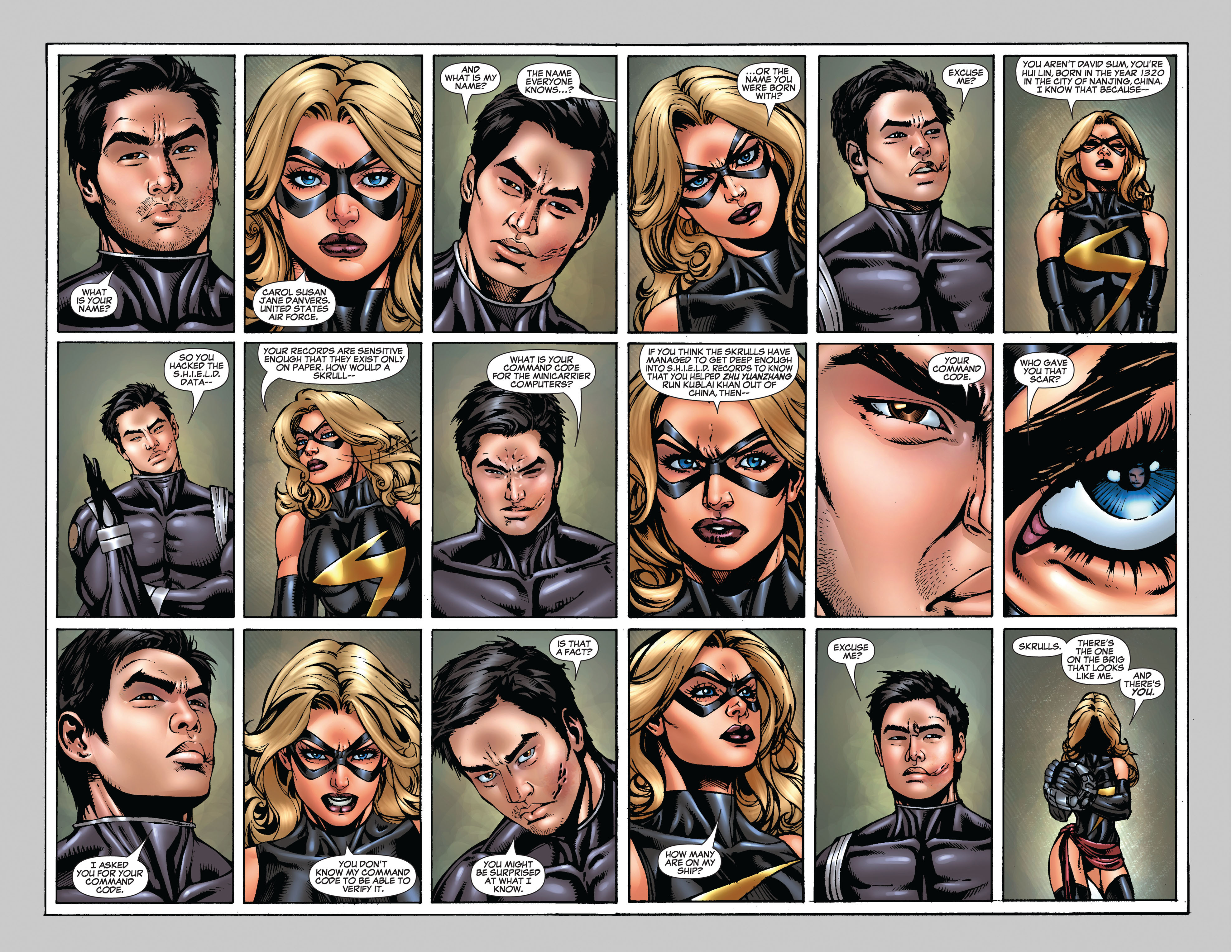 Read online Secret Invasion: The Infiltration comic -  Issue #9 - 17