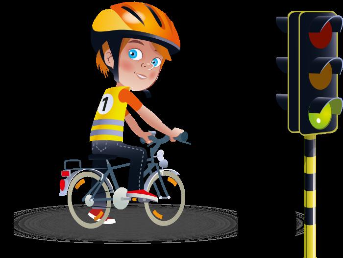 Afbeeldingsresultaat voor met de fiets naar school