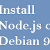 How To Install Node.JS on Debian 9 Server