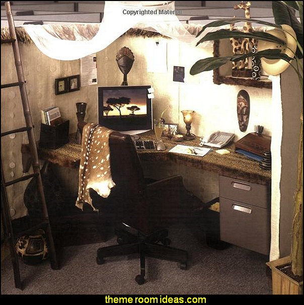 Cubicle Decorating Ideas Theme Part - 25: Office Cubicle Decorating Ideas - Cubicle Decorating - Work Desk Decorations  - Cubicle Decoration Themes -