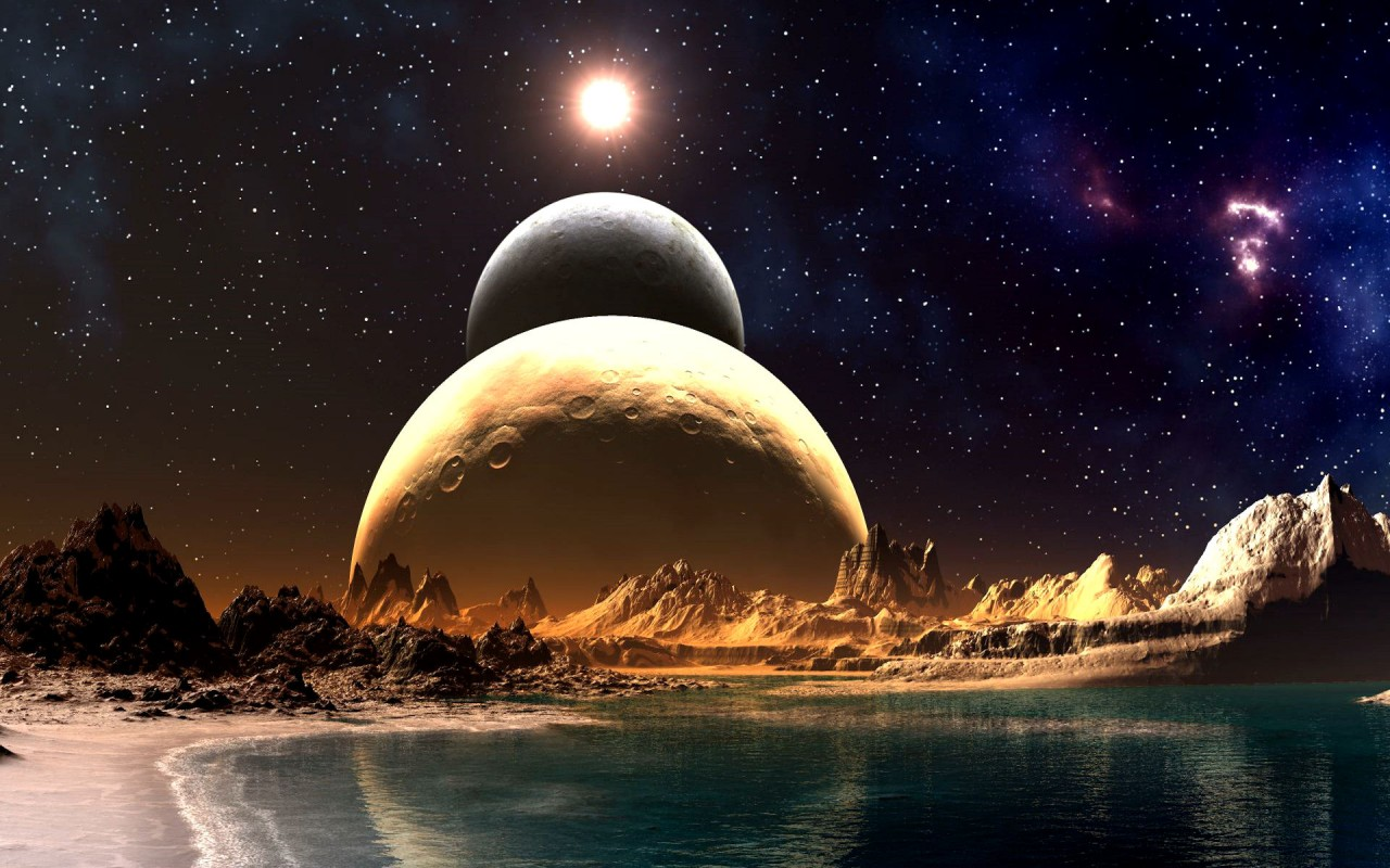 Desktop hd wallpapers top 33 real and unbelievable planet - Real space desktop backgrounds ...