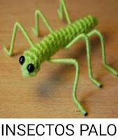 PATRONES INSECTOS PALO AMIGURUMI