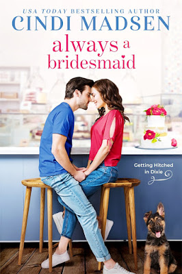 New Release Spotlight: Always a Bridesmaid (Getting Hitched in Dixie #2) by Cindi Madsen + Excerpt