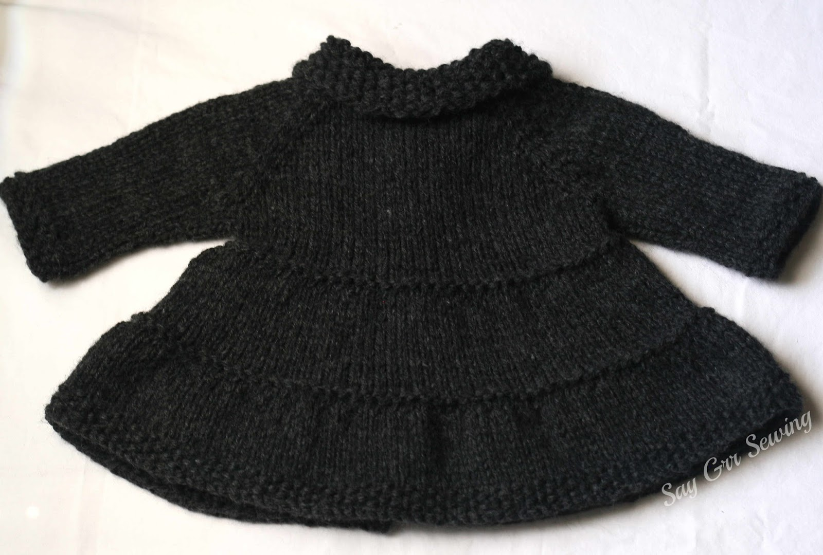 3e1566e73fe9 Say Grr Sewing  Knit Baby Sweater