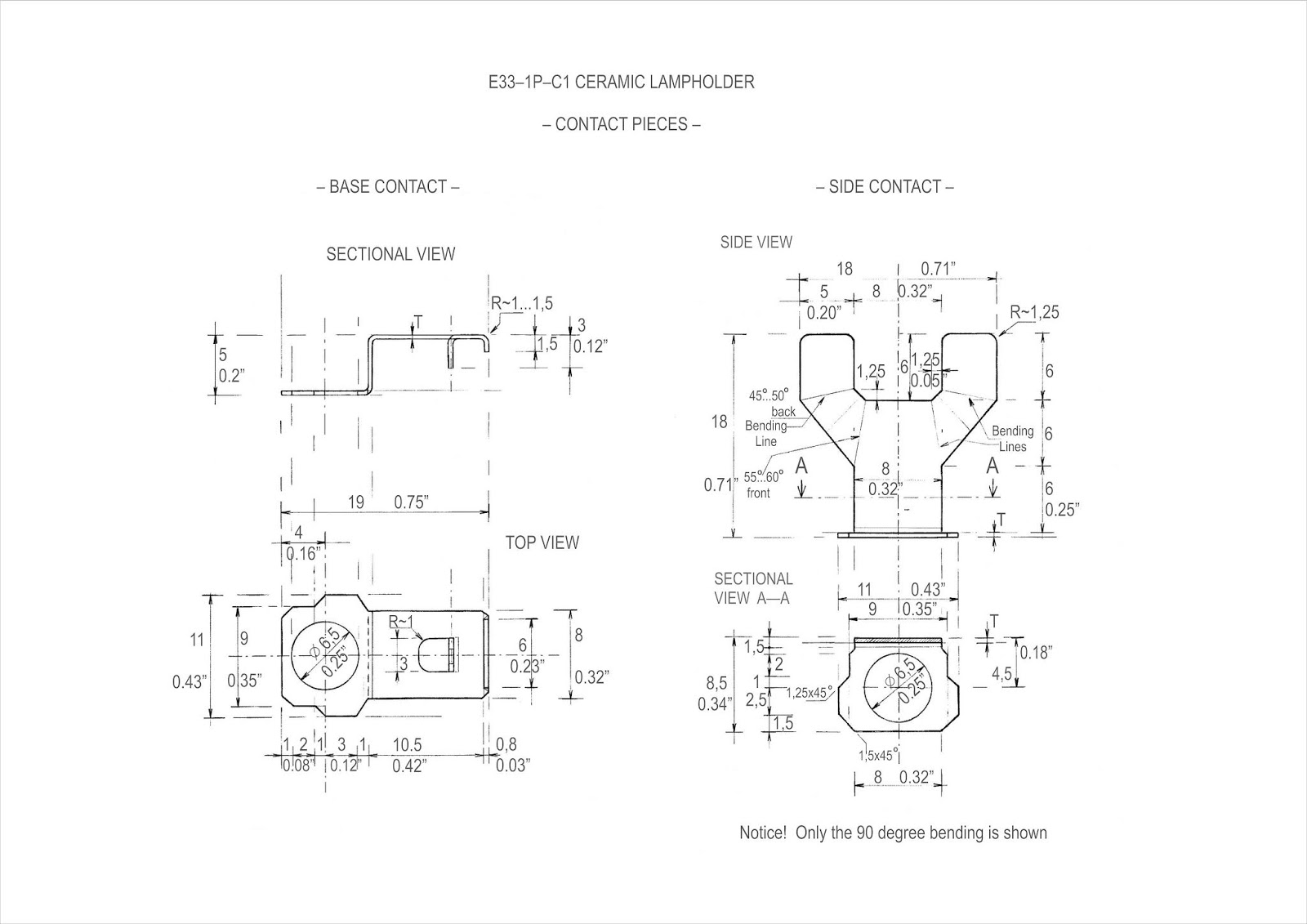 Hid Lamp Specifications