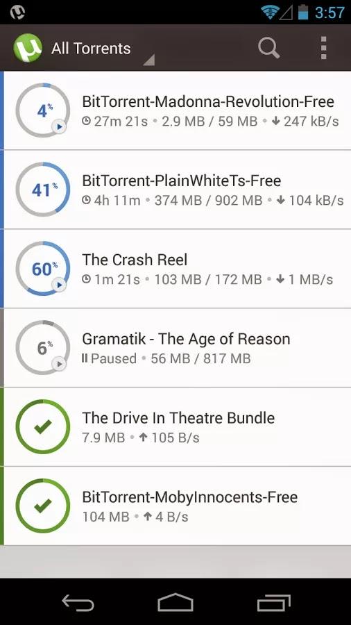 µTorrent® - Torrent Downloader PRO v3.9
