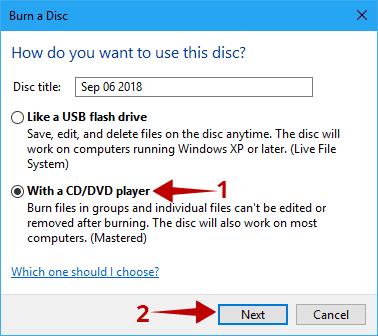 Cara Burning Windows 10 ke DVD