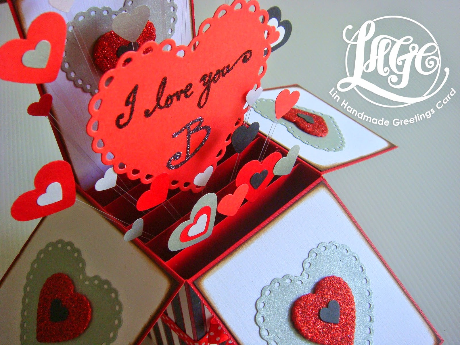 I Love You B Handmade Art Crochet And Quilling