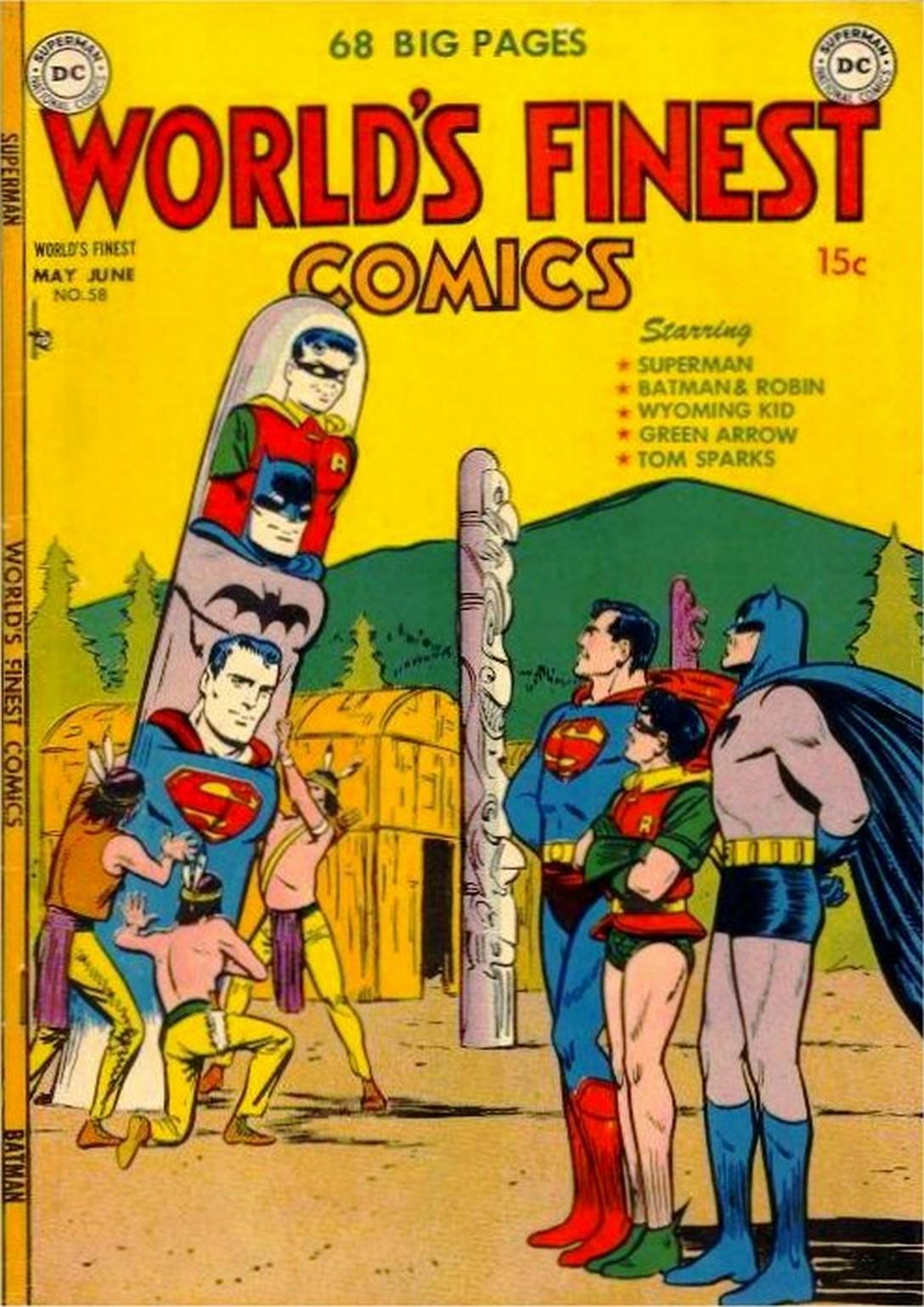 Read online World's Finest Comics comic -  Issue #58 - 1