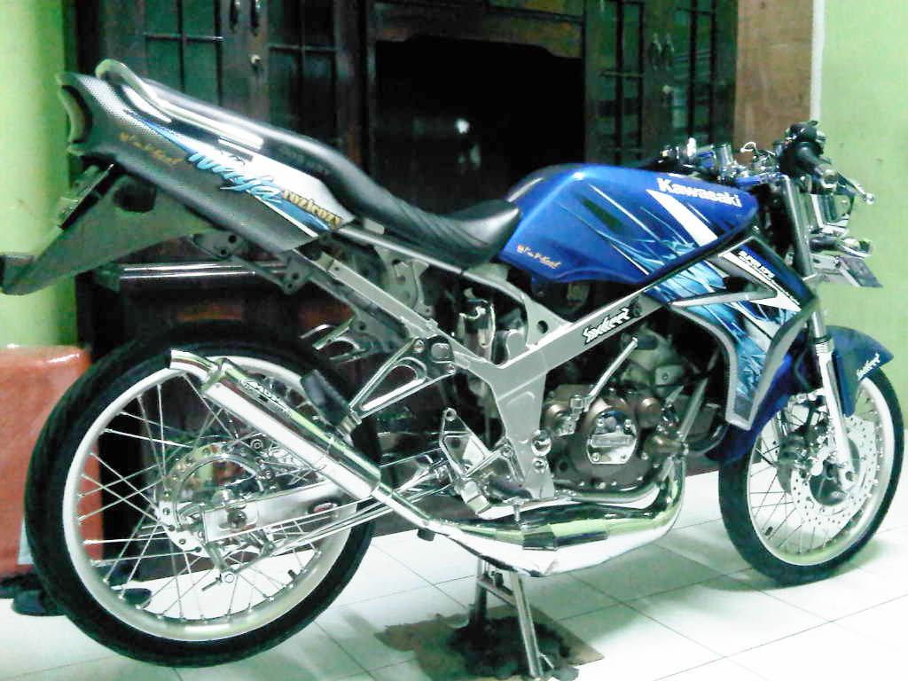 Modifikasi Simple Kawasaki Ninja R 150