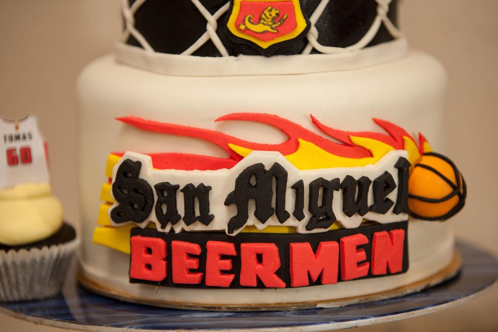 Customize San Miguel Beerman Fondant Cake Cakes By Edilyn