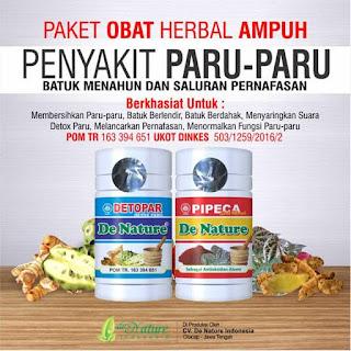 Obat batuk menahun De Nature di Aceh Barat Daya