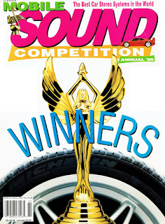 image of Mobile Sound Competition's Annual '96 Winners edition cover page