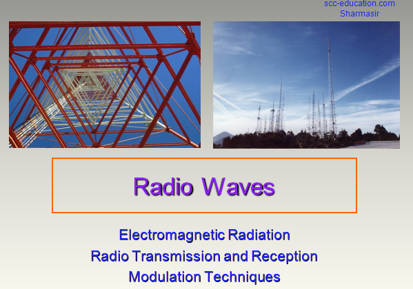 Radio wave ,electromagnetic radiation,modulation,