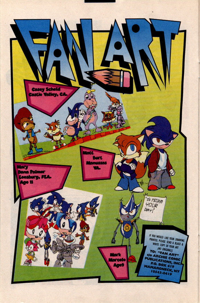 Read online Sonic The Hedgehog comic -  Issue #46 - 12