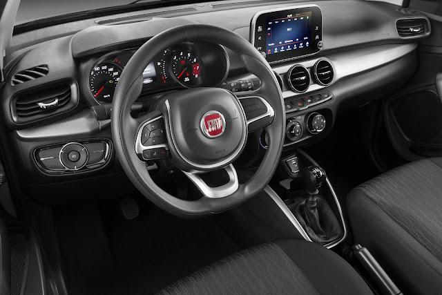 Fiat Argo - recall no airbag 2017