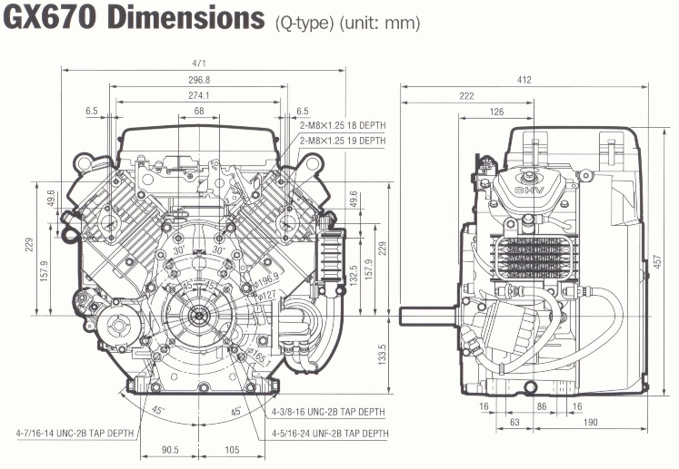 Honda V Twin Gx630 Parts Diagram. Honda. Auto Wiring Diagram