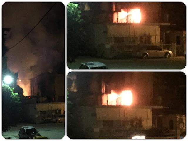 Γιάννενα: Φωτιά σε αυτοκίνητα που ήταν σταθμευμένα σε πάρκινγκ