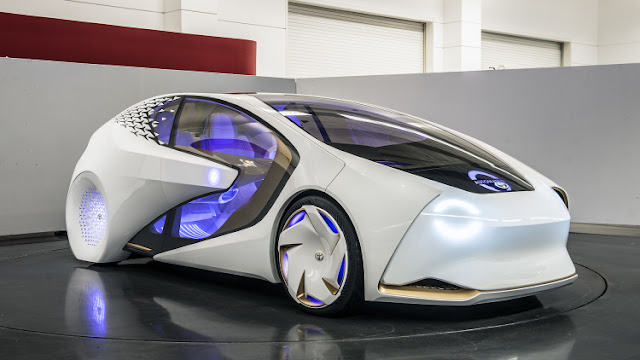 Imagen de Toyota Concept-i que aplica técnicas de machine learning