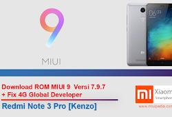 Download ROM Update MIUI 9 Versi 7 9 7 + Fix 4G Global Developer