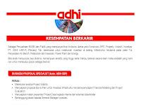 Lowongan Kerja PT. Adhi Karya (Persero) Desember 2016