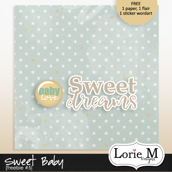Sweet Baby Bundle + FWP, Featured Products 50% OFF + Freebie