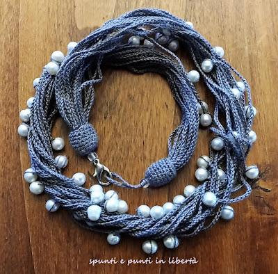 collana crochet