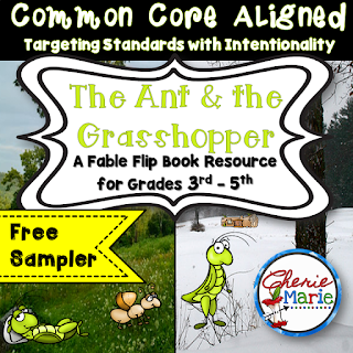 Ant & Grasshopper FREEBIE