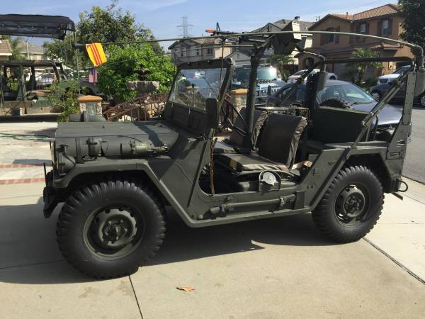 Vietnam War Jeep 1971 Kaiser Military Jeep 4x4 Cars