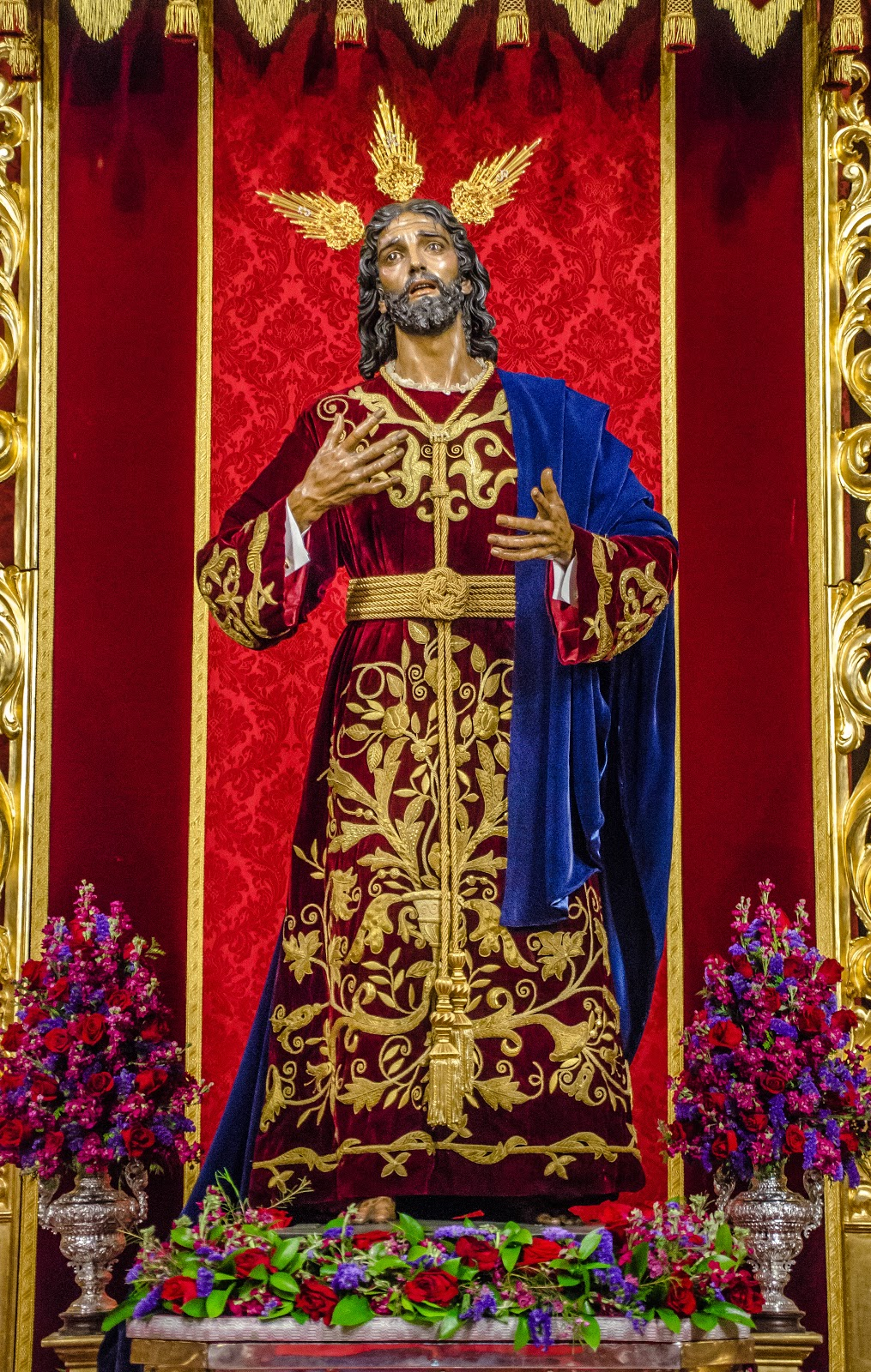 Image result for nuestro padre jesus de la victoria besapiés