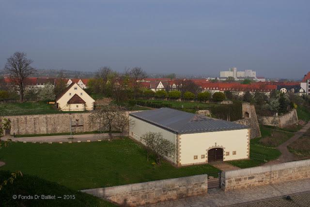 Geschützkaponiere Nr. 1 [1923-1826] — Caponnière double 1 (Citadelle de Petersberg (Erfurt)
