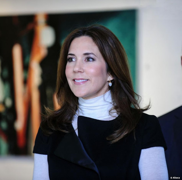Crown Princess Mary at the opening of the 'School 200 years' jubilee