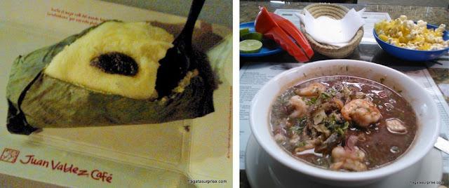 Comidas típicas do equador: quimbolito e ceviche equatoriano
