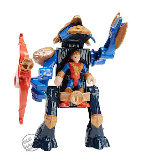 Mattel Imaginext Wonder Woman Toy Line Wonder Woman Warrior Suit