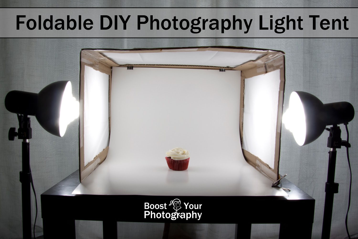 Foldable DIY Photography Light Tent