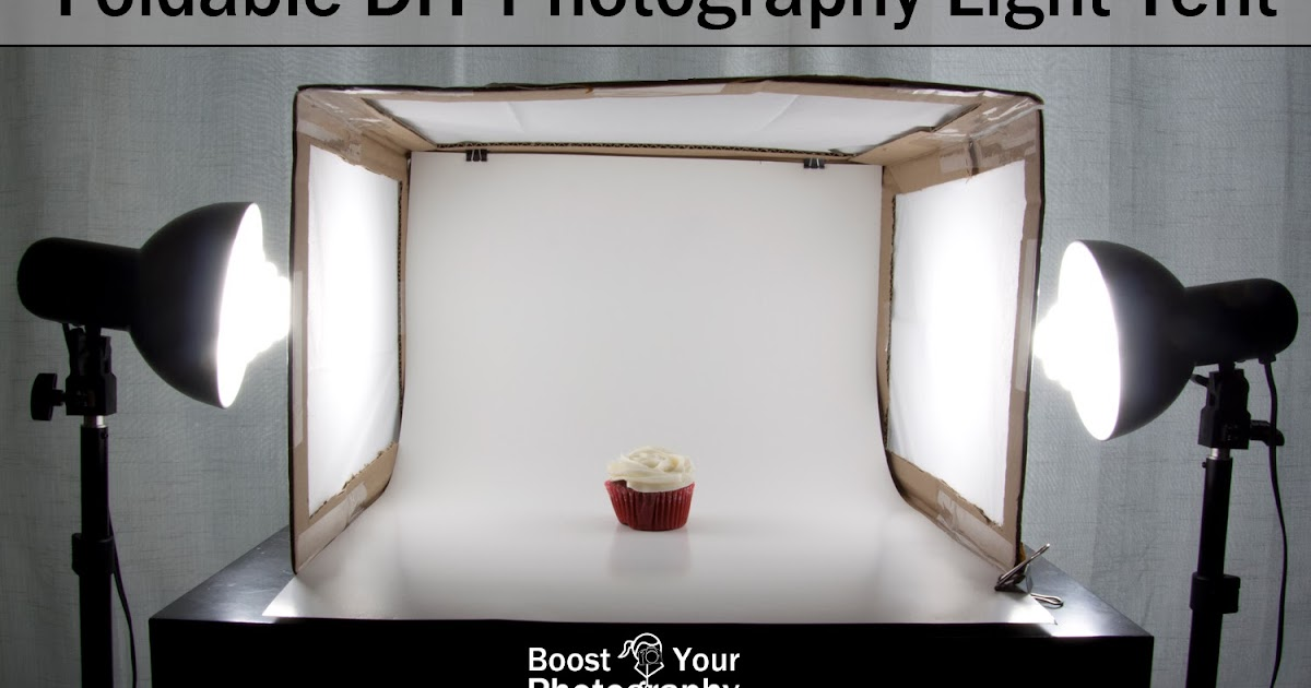 Foldable Diy Photography Light Tent Boost Your Photography