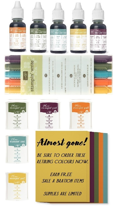 In colours 2014-2016 zena kennedy independent stampin up demonstrator